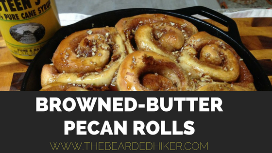 Browned-Butter Pecan Rolls