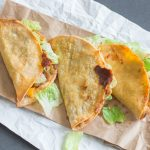 Faux Jack in the Box Tacos - your healthy, vegetarian alternative to Jack in the Box monster tacos!