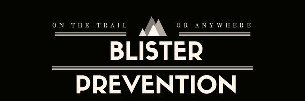 blister prevention