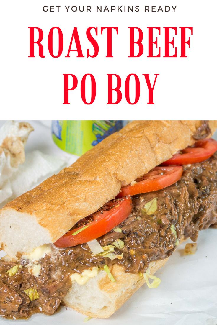 Classic Roast Beef Po Boy - Instant Pot + Slow Cooker