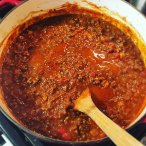 Tired of boring dehydrated meals? Whip up some of this delicious BBQ Spaghetti and save money. Plus it's way more delicious than any prepackaged spaghetti you can buy! It doesn't take a lot of time or energy. https://www.thebeardedhiker.com/bbqspaghetti