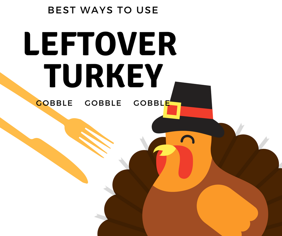 """Up to your ears in leftover turkey?  No worries, here are 12 delicious ways to use it up, from """"carnitas"""" to tetrazzini!"""