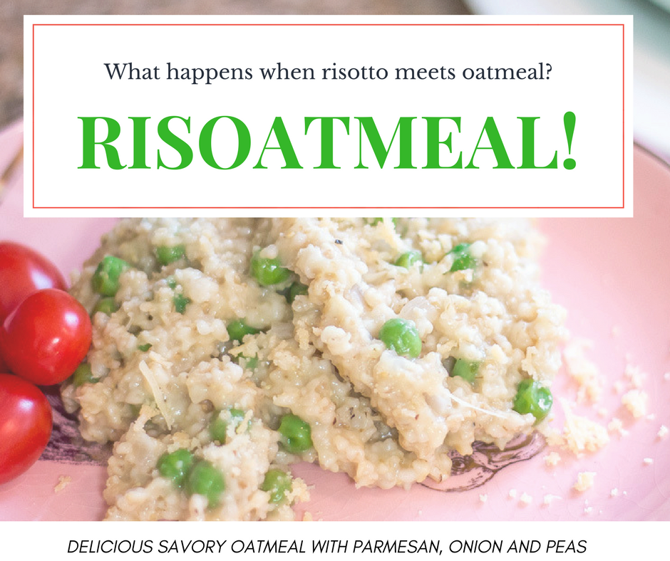 Risoatmeal - Risotto meets oatmeal and risoatmeal is their love child! Cheesy, delicious savory oats! Pressure cooker and stovetop instructions.