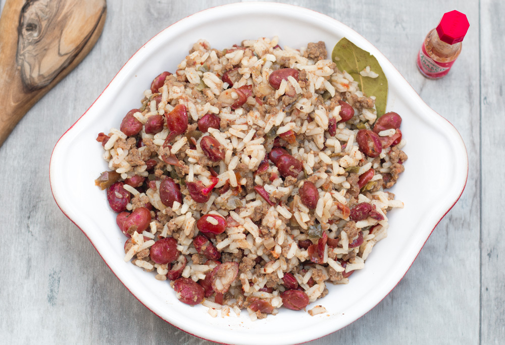 Easy, delicious red beans and rice for the trail!