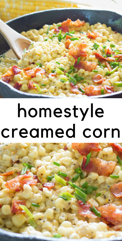 Homestyle Creamed Corn
