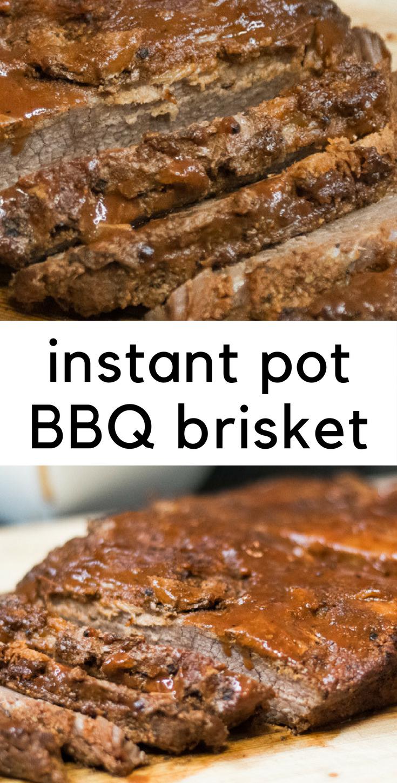 Instant Pot BBQ Brisket
