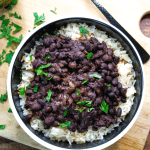 Texas de Brazil simply has the best black beans on the planet - and now you can make them at home! Easy, creamy, dreamy black beans!