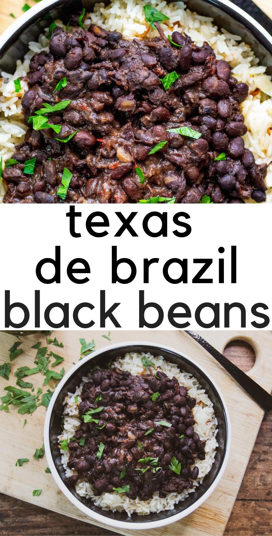 Texas de Brazil\'s Black Beans