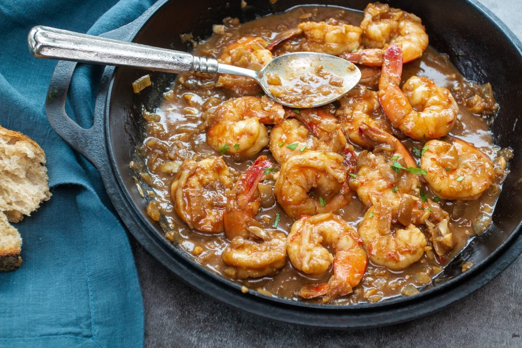 New Orleans BBQ Shrimp is so delicious, so easy, there is no reason why you shouldn't make it right now!