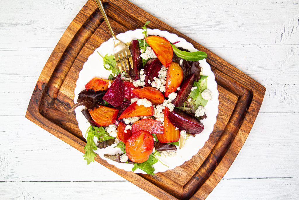 Cider vinaigrette glazed beets in your Instant Pot makes for a quick, nutritious side dish! Plus, it's covered with cheese, so yeah, nuff said.