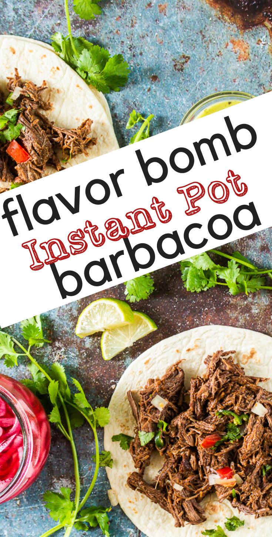 Flavor Bomb Barbacoa - Instant Pot