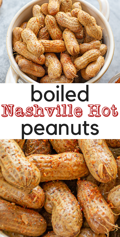 Nashville Hot Boiled Peanuts