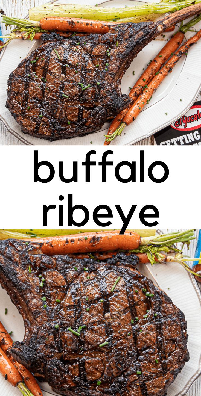 Buffalo Style Ribeye Steak