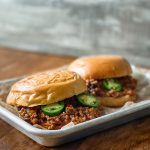 Grown up sloppy joes! Yes, sloppy joes can be crazy delicious.